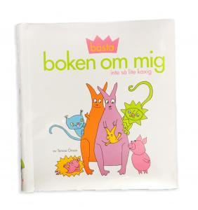 Bästa boken om mig, Fyll-i-bok | Doppresenter.se