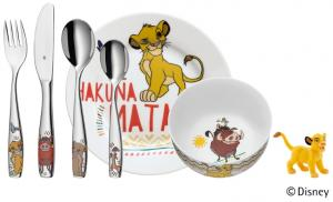 Lejonkungen barnset i 6 delar, Porslin - Disney | Doppresenter.se