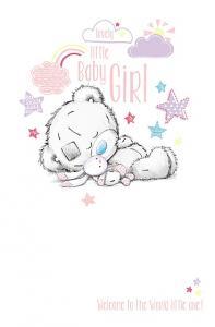 Kort, A Baby girl, hooray!- Me To You