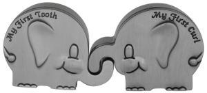 Elefant askar för första tand och hårlock | Doppresenter.se