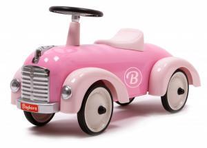 Gåbil i retromodell, rosa