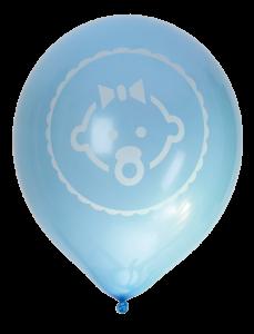 Ballonger Baby, Blå, 8p | Doppresenter.se