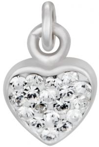 Silverarmband med hjärta, 17cm | Doppresenter.se