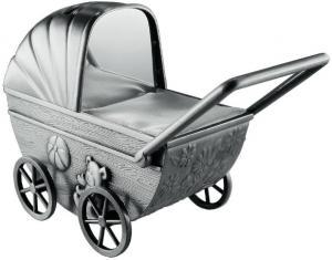 Sparbössa, barnvagn i tennfinish