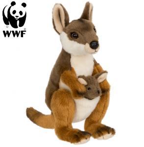 Vallaby med baby - WWF (Världsnaturfonden)