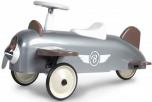 Gåbil i retromodell, beige/grå - Baghera