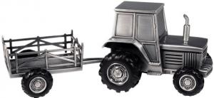 Sparbössa, Traktor med vagn