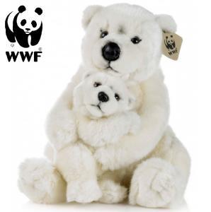Isbjörn med baby - WWF (Världsnaturfonden)