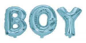 Folieballonger BOY blå   Doppresenter.se