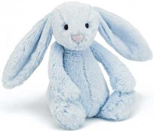Bashful Kanin, blå - Jellycat | Doppresenter.se
