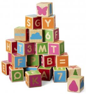 Alfabetsklossar (36st)
