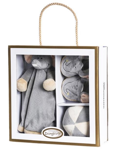 Diinglisar Presentset Elefant - Teddykompaniet