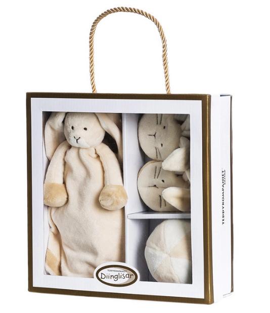 Diinglisar Presentset Kanin - Teddykompaniet