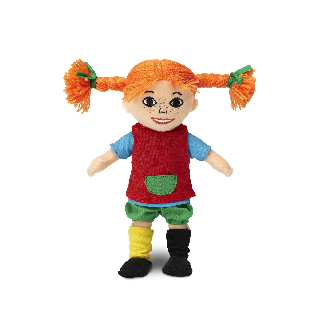 Pippi Långstrump (Mjuk Docka) - Micki Leksaker (20cm)